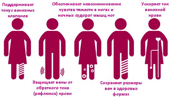 Необходимость профилактического ношения компрессионных чулков