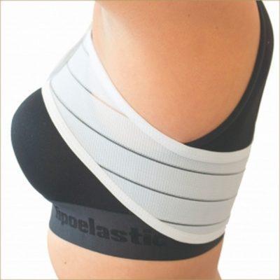 Стабилизирующая лента после увеличения груди