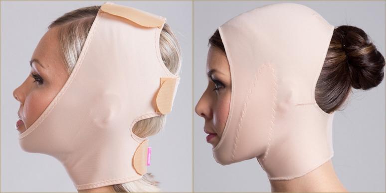 компрессионная маска для лица бандаж
